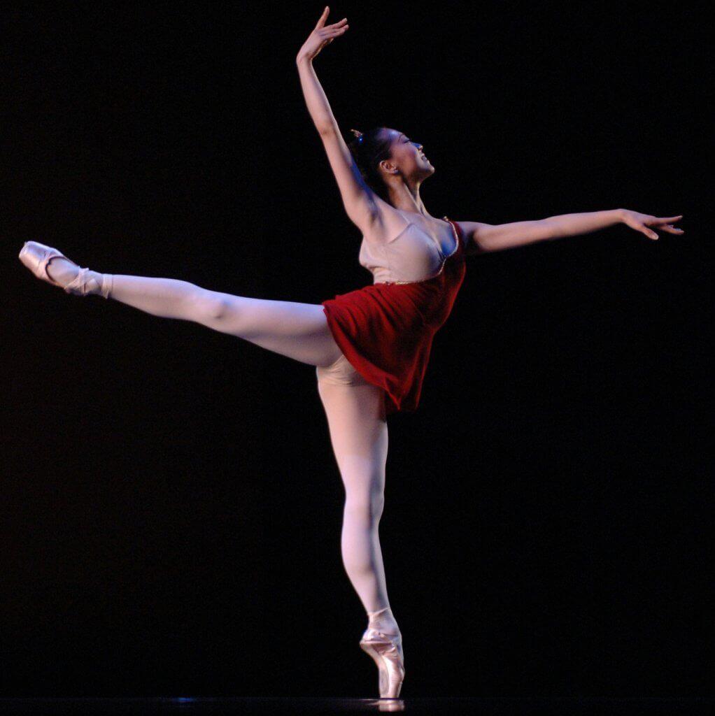 Ballet dancer Misa Kuranaga
